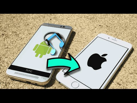 How to transfer music from android to iphone/ipod