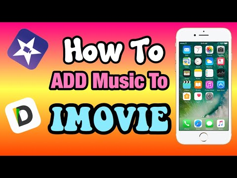How to add music in imovie | iphone| ipad| tutorial 2018