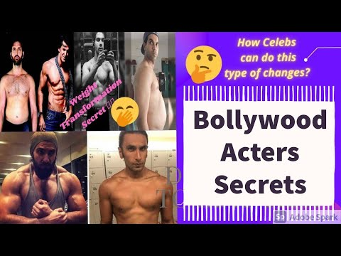 How celebrities lose or gain weight fast for movies~weight transformation🤫tips~weight lose tricks