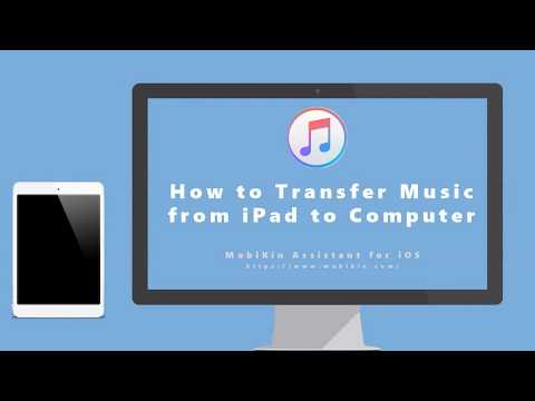 How to transfer music from ipad to computer