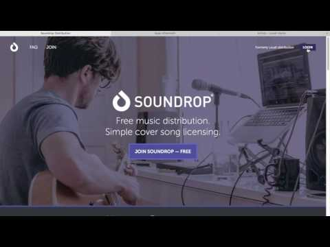 How to put your music on itunes for free in 2019 (soundr/soundrop music distribution service)