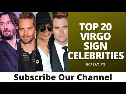 Top 20 virgo sign celebrities   virgo zodiac sign celebrities   virgo famous people