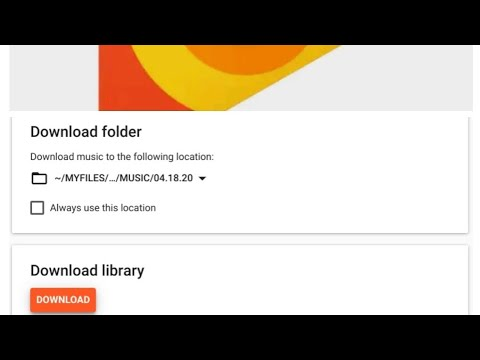 Google play music: how to download your music library from google play music