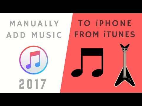 How to manually add music to iphone, ipad or ipod touch from itunes (step-by-step!)