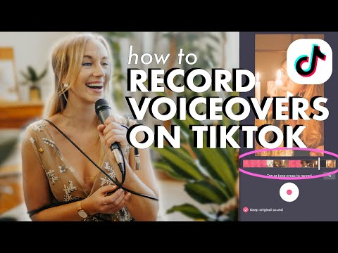 How to record a voiceover in tiktok | step-by-step