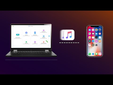 How to transfer music from computer to iphone 6/7/8/x/xs