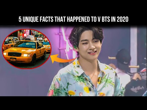 Bts (방탄소년단) 5 unique facts that happened to v bts in 2020, that you have to know - bangtanbomb