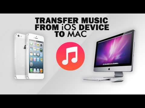 How to transfer music from ipod iphone ipad to computer free [mac only]