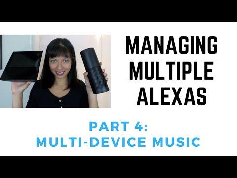 Managing multiple echos part 4: multi-room music sync