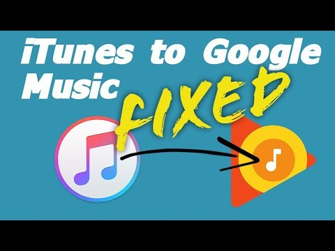 Move your itunes music to google play music (jan 2019)