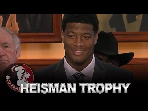 Florida state's jameis winston wins heisman trophy