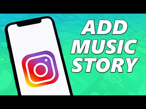 How to add music to your instagram story! (2021)