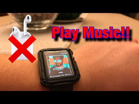 How to play music directly from apple watch with no airpods!!