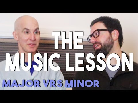 Major versus minor - happy? sad? why?- play music by ear for beginners