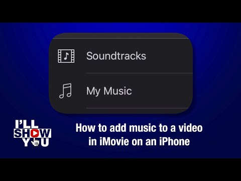 How to add music to a video in imovie on an iphone