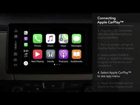 How to connect & use apple carplay™