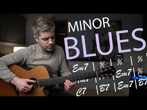 Just a beautiful minor blues (fingerstyle blues in e minor).