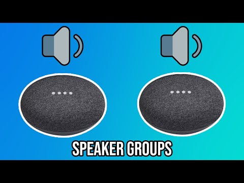 How to play music on multiple google home | speaker groups