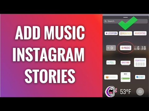 How to add music to instagram stories (100% working)