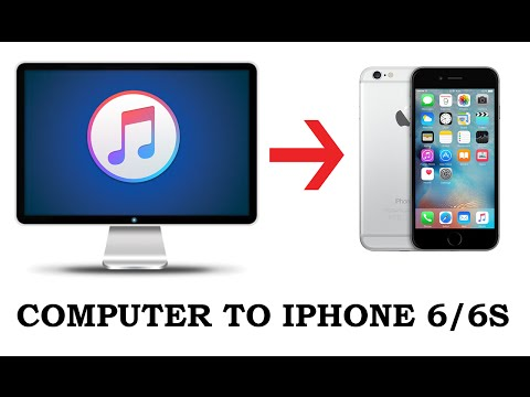 How to transfer music from computer to iphone 6s