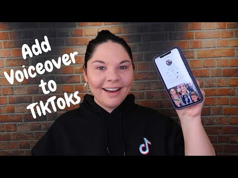 How to add voiceover to tiktok videos in app *new feature