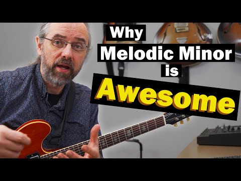 This is why melodic minor is awesome