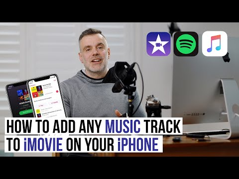 How to add any music track to imovie on your iphone