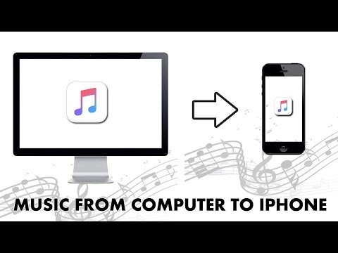 How to transfer music from computer to iphone/ipod/ipad 2017