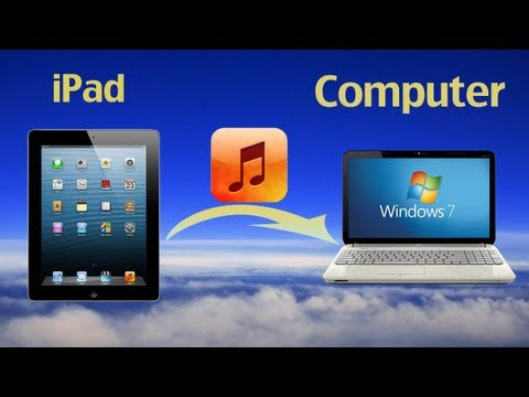 How to transfer music from ipad to pc? how to transfer music from ipad (air/mini) to computer?