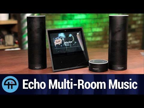Multi-room music on the echo