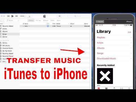  ♫ ♫ how to transfer music from itunes to iphone, ipad ♫ ♫