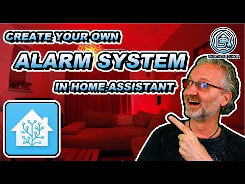 Create a professional alarm system in home assistant. this is how!