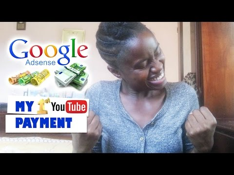 My first youtube payment as someone who lives in the caribbean