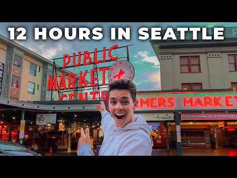 12 nonstop hours of fun in seattle | doing everything on our seattle bucket list