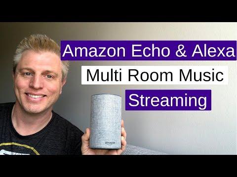 Amazon echo multi room music : stream to multiple echos