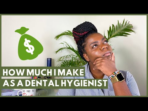 How much does a dental hygienist make? | how much money i make as a dental hygienist in jamaica