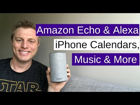 Amazon echo & alexa: iphone calendars, music and more