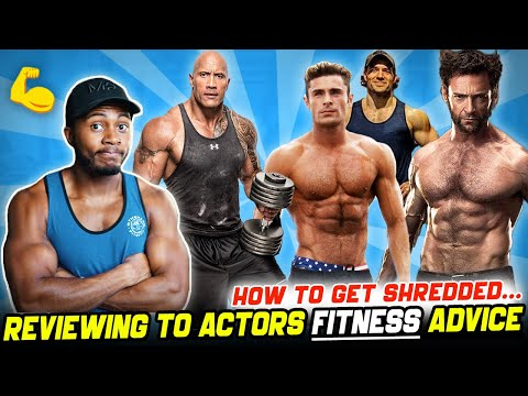 How celebrity actors eat & train to get ripped for roles...