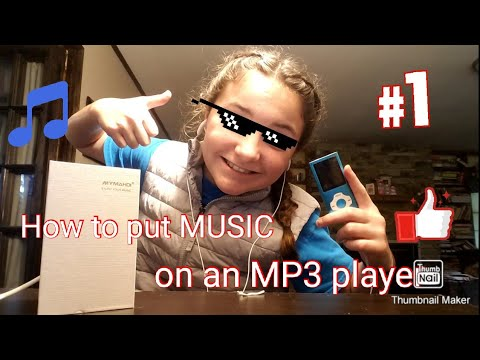 How to put music on an mp3 player!!