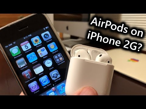 Do airpods work with the 1st iphone?