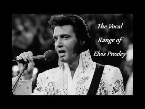 The vocal range of elvis presley -- e1-b♭5