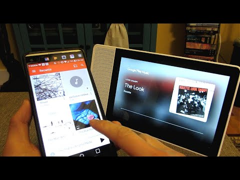 How to sync music files to google play music   sync to google home hub   music playlist