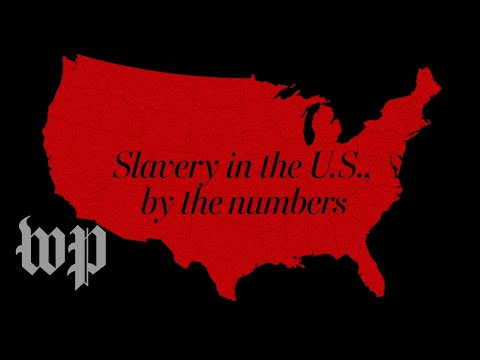 Slavery in the u.s., by the numbers