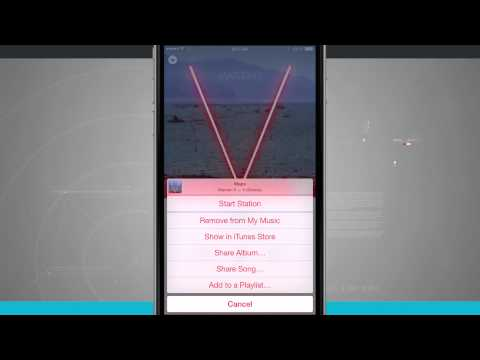 Iphone 6 tips - how to save songs for offline playback in apple music