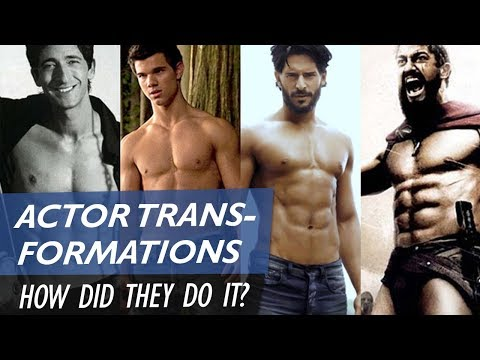 How do hollywood actors get ripped so fast?