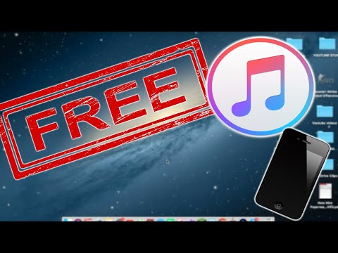 How to download music free onto your iphone using a computer!!
