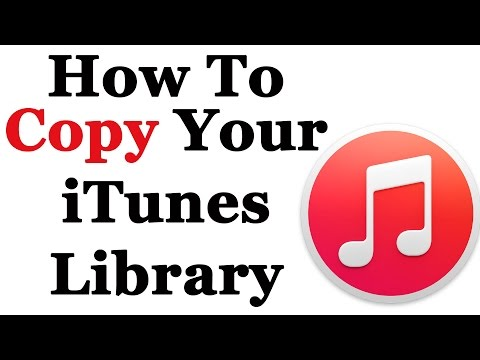 How to copy your itunes library from one computer to another