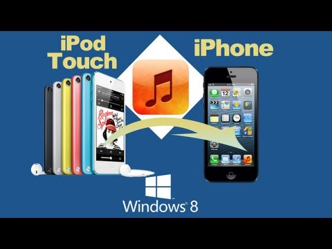 Music from ipod to iphone: how to copy music from ipod touch to iphone 5s/5c/5, iphone 4s/4/3gs?