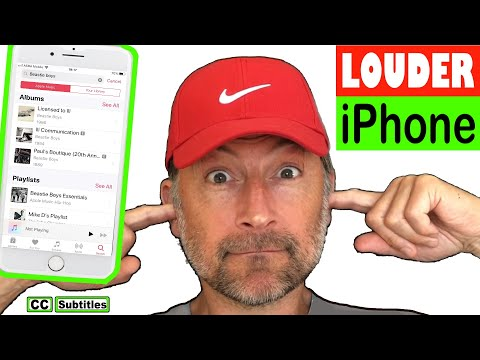 How to make iphone speakers louder
