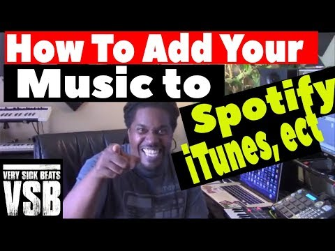 How to add your music to spotify